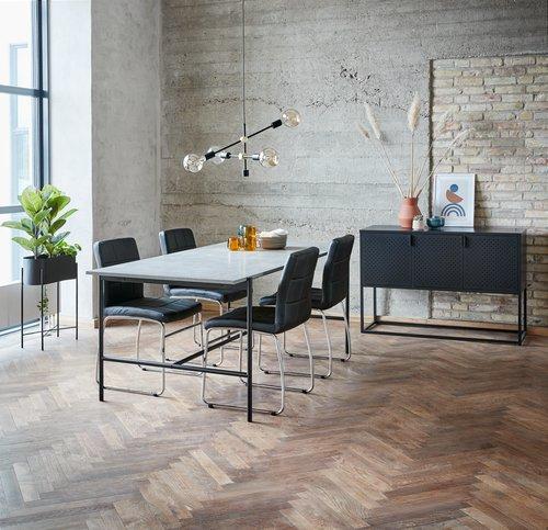Τραπέζι τραπεζ. TERSLEV 80x140 τσιμέντο