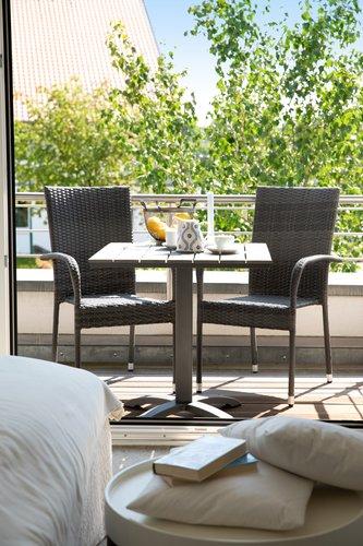 Tavolo bistrot MIAMI P70xL70 grigio