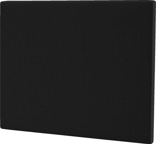 Hoofdeinde 140x125 H20 effen zwart-10