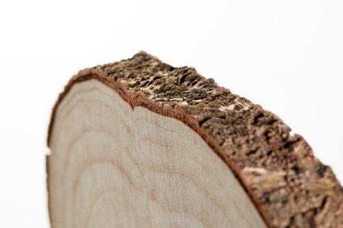 Holzscheibe KARLSEN Ø28xH3cm