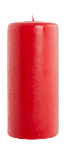 Stumpenkerze KORNELIUS 4 Stk/Pck rot
