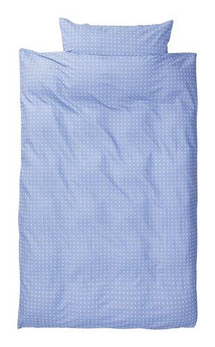 Completo copripiumino KATJA 150x200 blu