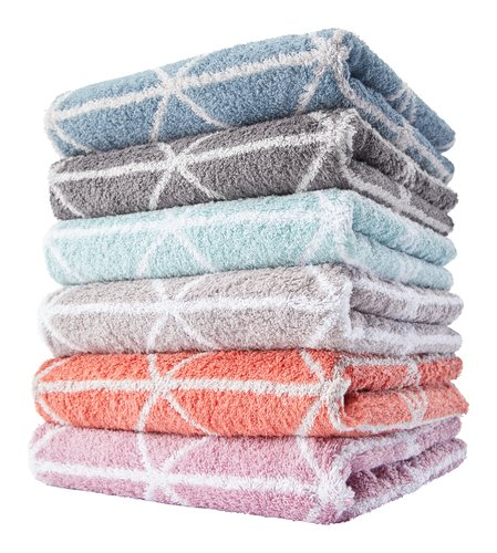 Asciugamano ospite GRAPHIC smoke blue