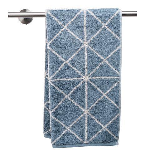 Toalla lavabo GRAPHIC azul empolvado