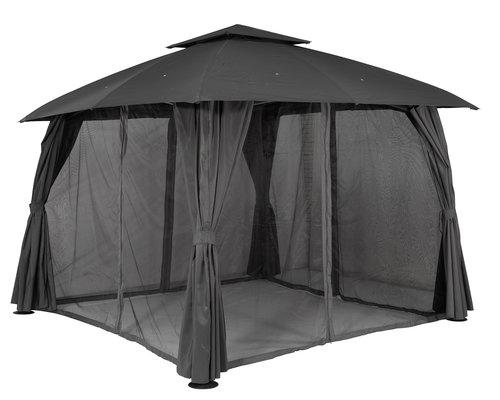 Pavillon SANKT HANS B300xL300 grå