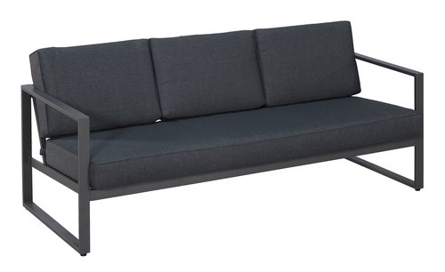 Lounge-Set KENTUCKY 5 Pers. grau