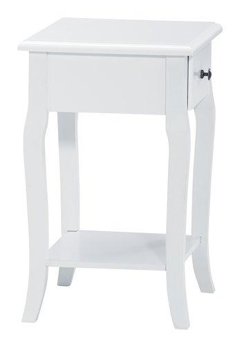 Nachttisch LONE 1 Schublade weiß