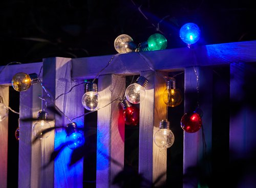 Lichterkette FINK 12 m m/50 LED div.