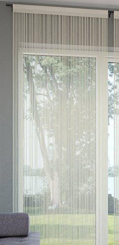 Zavesa iz nitk NISSER 140x245 cm krem