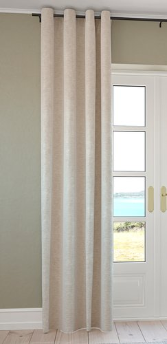 Curtain NESVATN 1x140x300 chenille sand