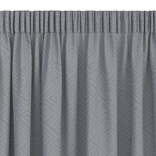 Zavesa LYGNE 1x140x300 žak. siva
