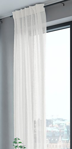 Cortina SKORPA 1x140x300 blanco