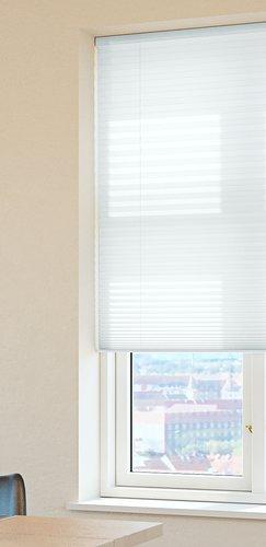 Plisségardin HOVDEN 130x160 hvit