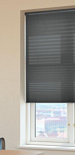 Plisségardin HOVDEN 110x160 grå