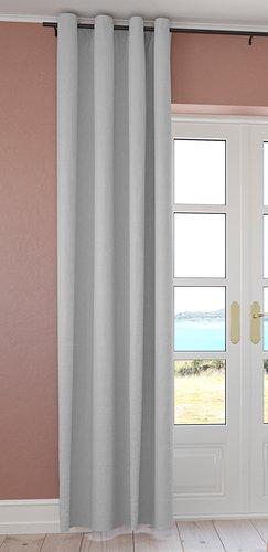 Cortina ISTEREN 1x140x300 gris claro
