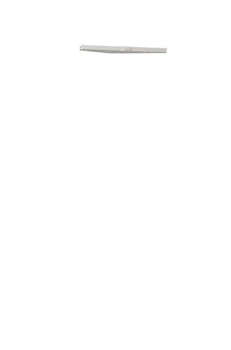 Plissee LOVUND 45x130 hellgrau