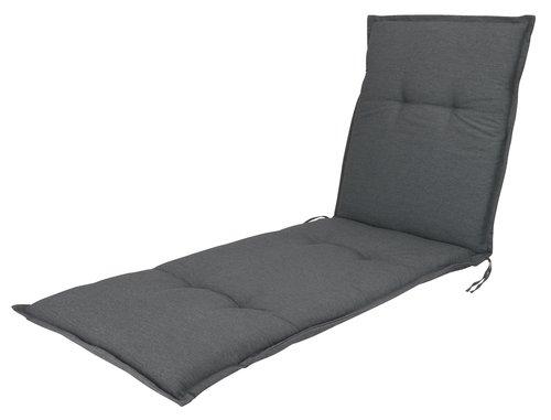 Cuscino sdraio HOPBALLE grigio scuro