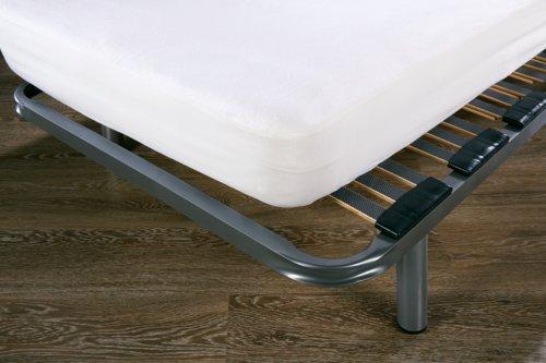 Drap-housse moll. imperm. 60x120x15cm