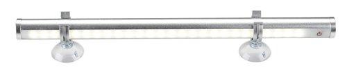 Lampada LED makeup KALIX L29cm argento