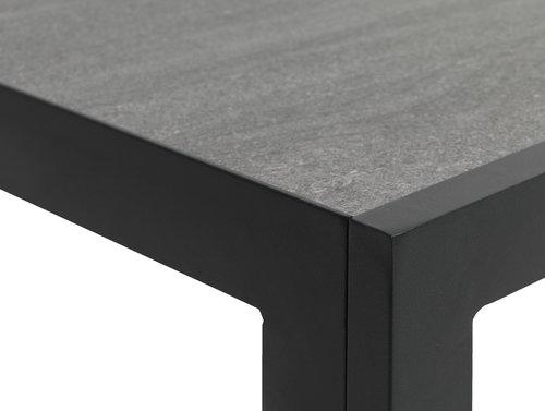 MAMRELUND L195 grigio+4 SKIVE nero