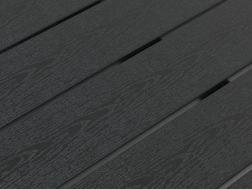 Τραπ.μπιστρό HOBRO Π70xΜ70 μαύρο