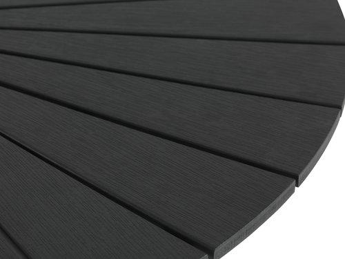 Τραπέζι RANGSTRUP Ø110 μαύρο