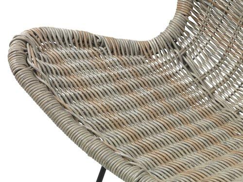 Chaise lounge VALLESTRUP naturel