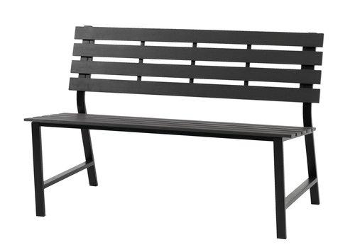 Скамья KLINT 125x60 см серый
