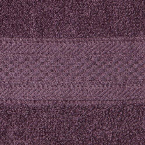 Ręcznik UPPSALA 50x90 ciemnofioletowy
