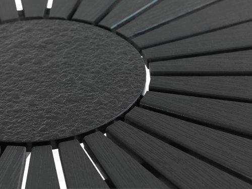 RANGSTRUP д.130см + 4 ILDERHUSE чорний