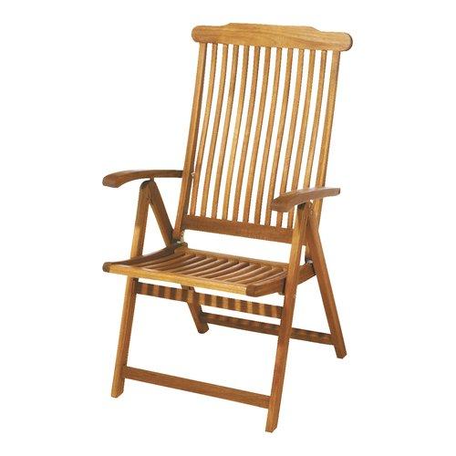 Cadeira reclinável SANTA FE madeira dura