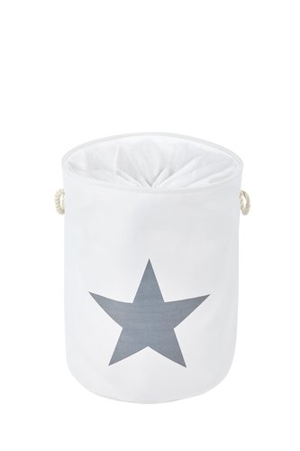 Wäschekorb STARS Ø42xH55cm div.