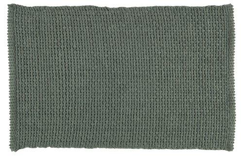 Tappeto bagno NOLVIK 50x80cm verde polv.