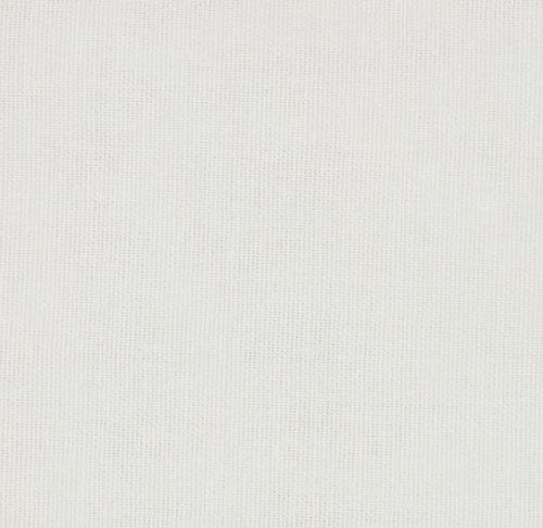 Stof EIKEREN 3m/pk ensfarvet hvid