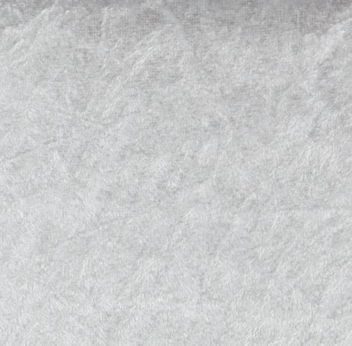 Nervøs fløyel GNIST 3 m/pk lys grå