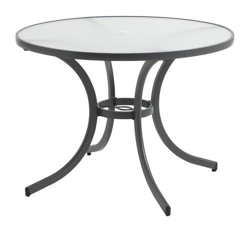 Table NIZZA Ø105 gris