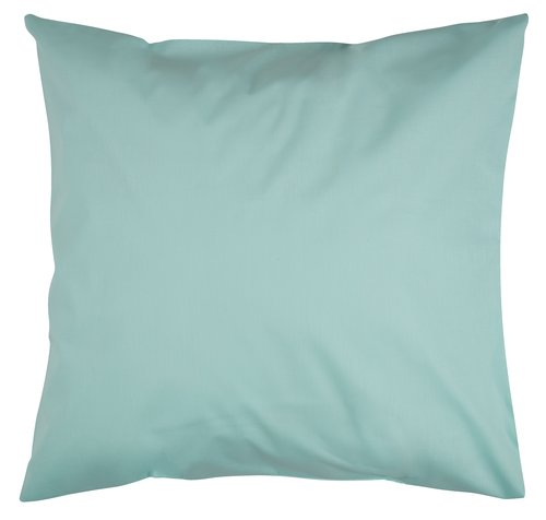 Taie d'oreiller 65x65 turquoise