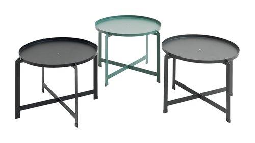 Tavolino BORRE Ø50xH40 assortito