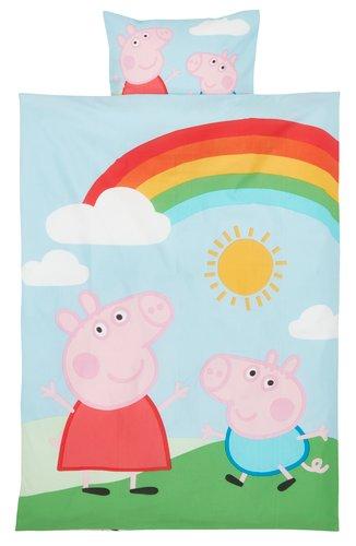 Påslakanset PEPPA PIG 115x135