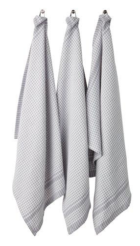 Kjøkkenhåndkle SANDARVE 50x70 3 stk ass.