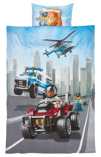 Sengesæt LEGO CITY 140x200