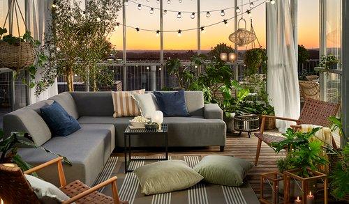 Scaun terasă GJERLEV natur