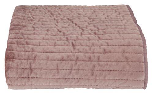 Copriletto VELVET DE LUXE 160x220 rosa
