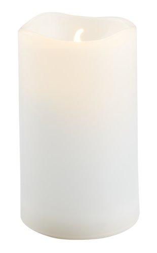 Svijeća SOREN Ø5xV10cm bijela s LED