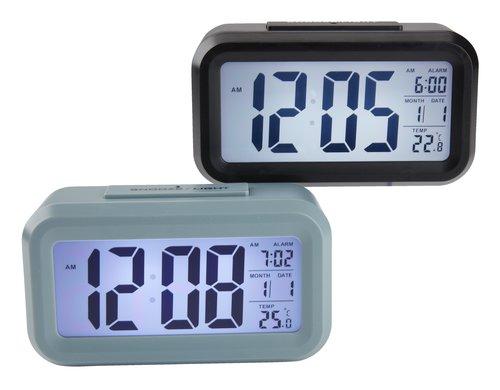 Väckarklocka SVEN m/funktioner osort.
