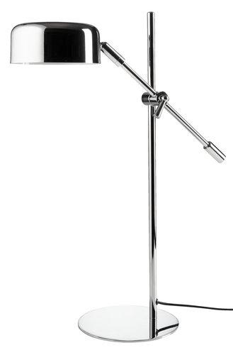 Lámpara mesa ISAK A16xL42xA49 cm cromo