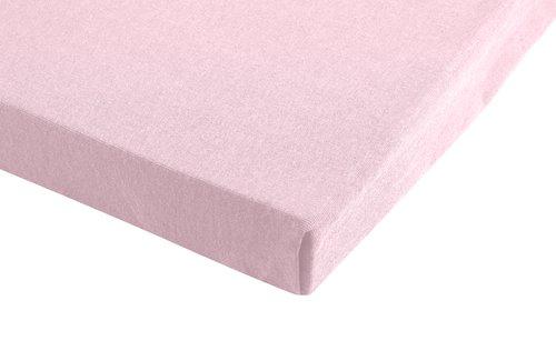 Lenzuolo jersey 180x200x28cm rosa antico