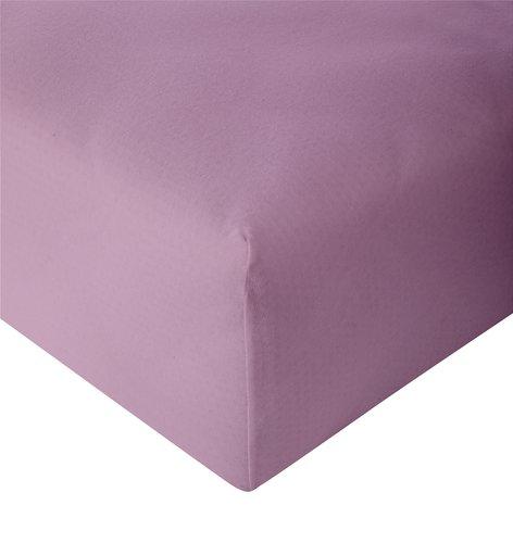 Jersey-Spannleintuch 180x200 staubrosa