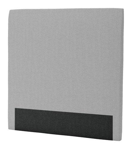Sänggavel 120x125 H30 CURVE grå-27