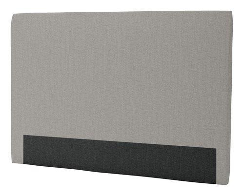 Sengegavl H30 CURVE 180x125 grå-21